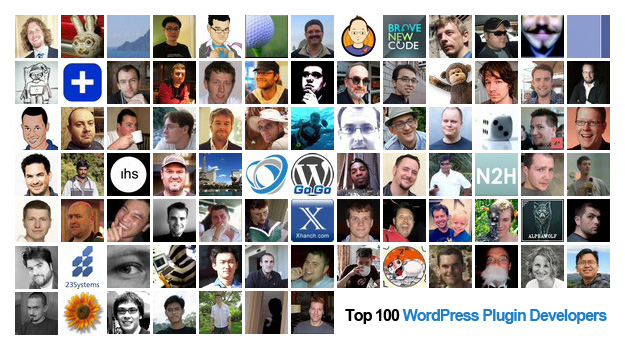 Top 100 der WordPress Plugin Entwickler
