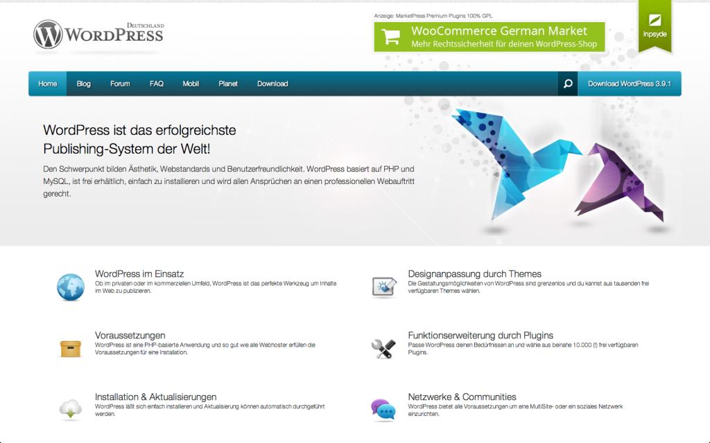 wpde.org – Startseite