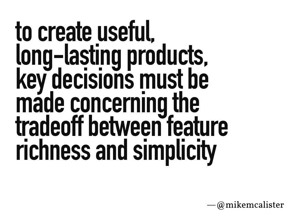 """To create useful,