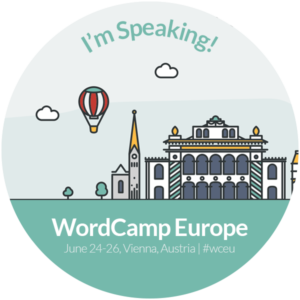WordCamp Europe 2016—I'm speaking!