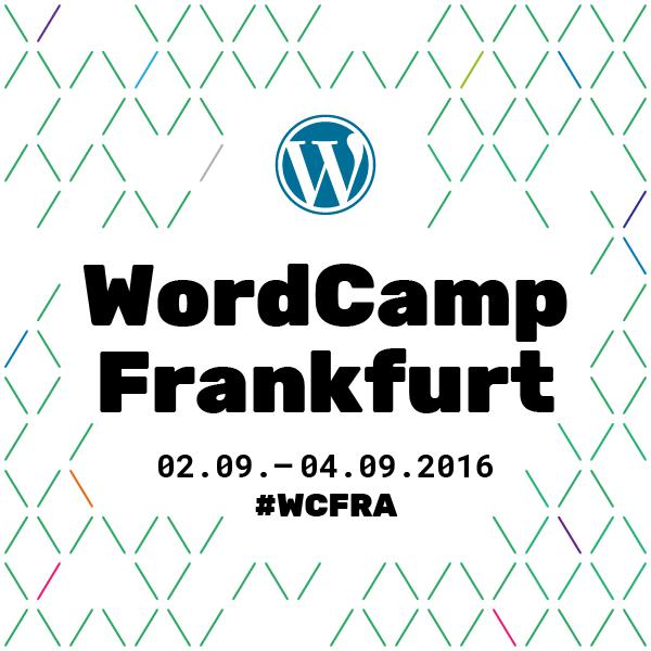 WordCamp Frankfurt 2016