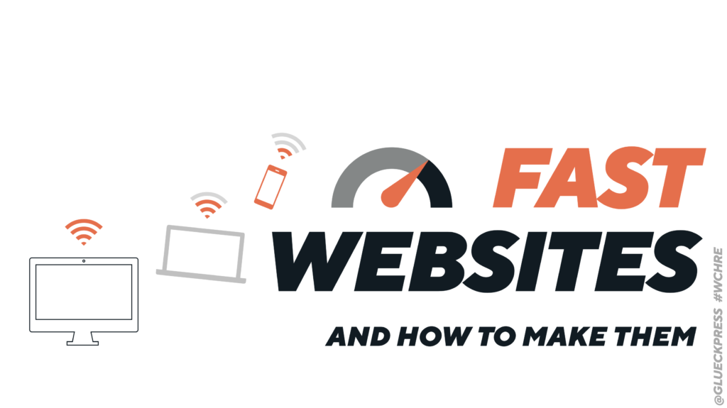 Cover slide: line-drawn iMac, Macbook, and smartphone with italic uppercase typo, black and orange